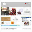 「Sweet & Beverage」WEBサイト
